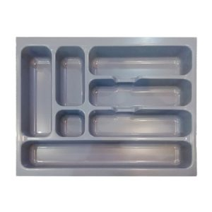 Plastic Cutlery Tray – Gray (400mm)
